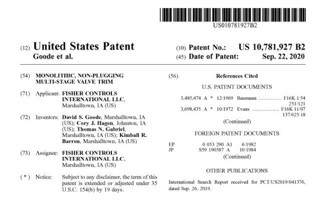 Patent_Valve_10781927