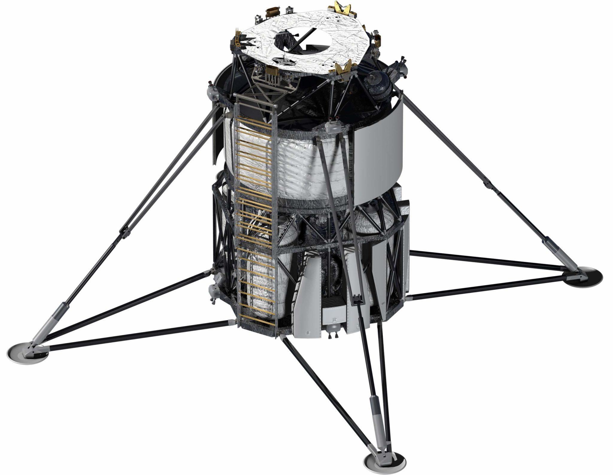 Blue Origin正在提供基于蓝月亮货月球着陆器及其BE-7发动机的下降元素,该技术已经开发了三年