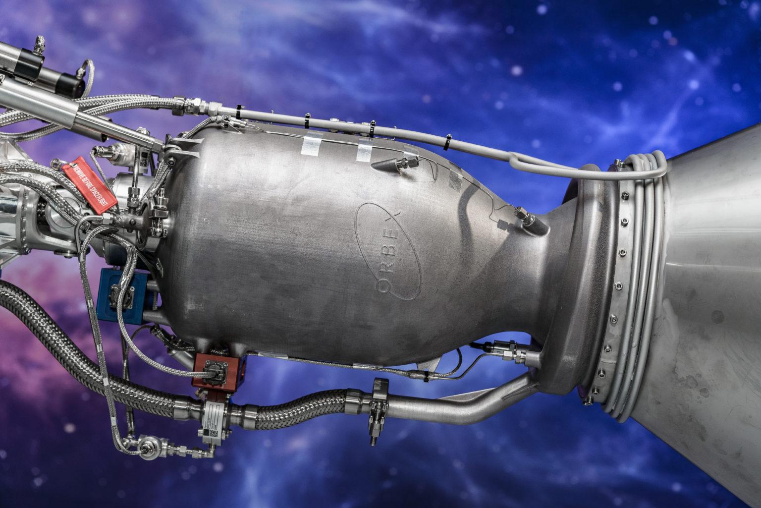 Orbex的3D打印火箭发动机