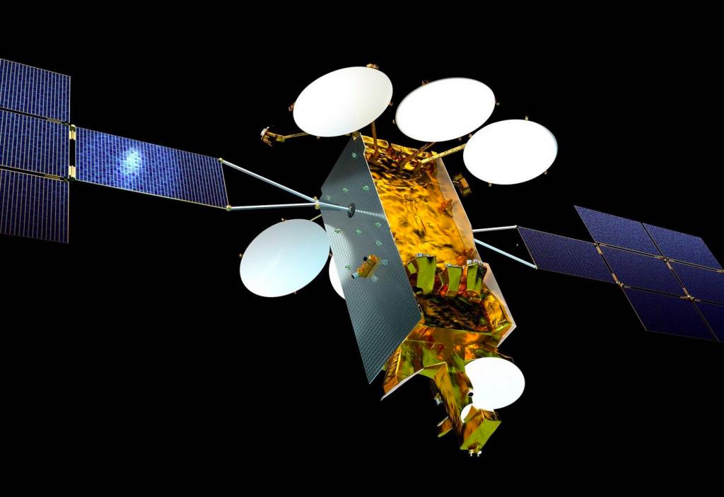 空中客车公司为Eutelsat的两枚Nero卫星(如图)共打印了500个零件
