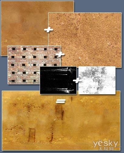 3dsMAX创建荒漠中废弃的房屋